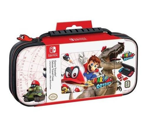 Deluxe Game Traveler Case Mario Odyssey Dinosaur - Switch