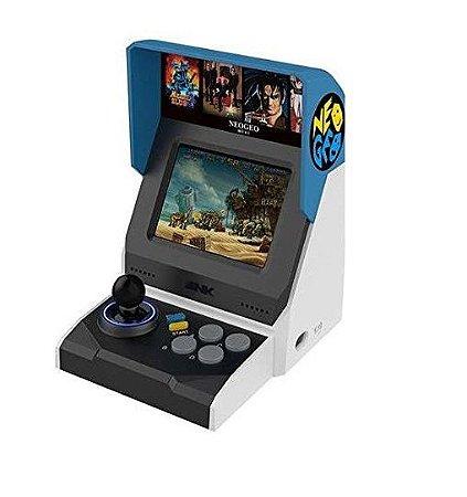 Neo Geo Arcade Mini International C/ 40 Jogos Neogeo