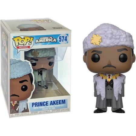 Funko Pop Coming to America 574 Prince Akeem