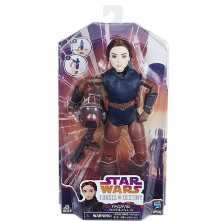 Star Wars Forces of Destiny Padme Amidala Boneca