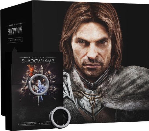 Middle-Earth Shadow of War Mithril Collectors Edition - PS4