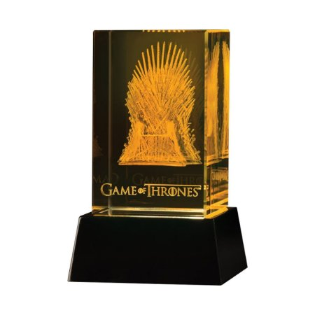 Figura Game Of Thrones Crystal Iron Throne - Dark Horse