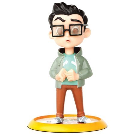The Big Bang Theory Leonard Hofstadter Q-Fig Diorama QMx