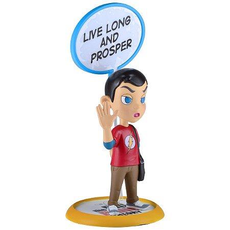 The Big Bang Theory Sheldon Cooper Q-Fig Diorama QMx