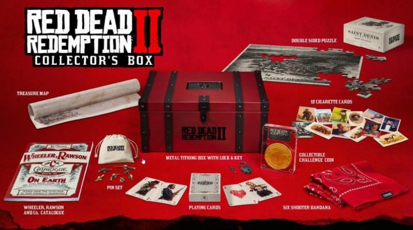 Red Dead Redemption 2 Collectors Box Edition - PS4