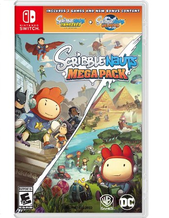 Scribblenauts Mega Pack - Switch