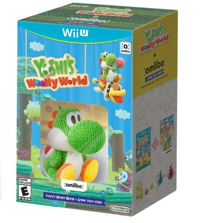 Yoshi's Woolly World + Green Yarn Yoshi Amiibo - Wii U