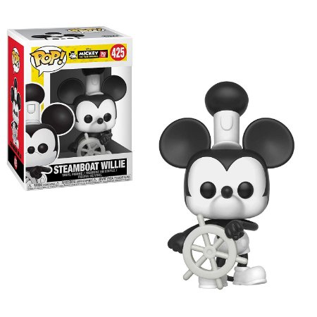 Funko Pop Disney Mickey's 90Th 425 Steamboat Willie