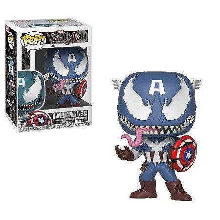 Funko Pop Marvel Venom 364 Venomized Captain America
