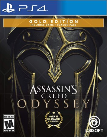 Assassins Creed Odyssey Gold Steelbook Edition - PS4