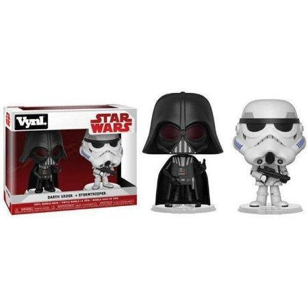 Funko Vynl Star Wars Darth Vader & Stormtrooper 2-pack
