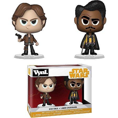 Funko Vynl Star Wars Han Solo & Lando Calrissian 2-pack