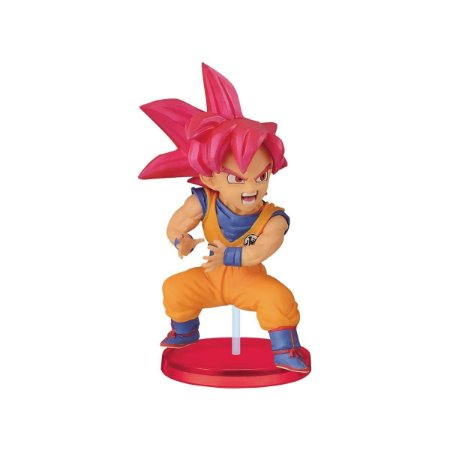 Dragon Ball Wcf Kamehameha Figure Goku God Bandai