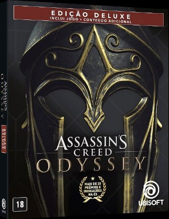 Assassins Creed Odyssey Steelbook Deluxe Edition - PS4