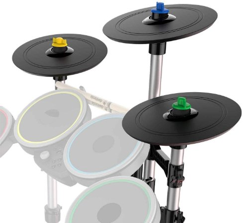 Rock Band 4 Pro Cymbals Expansion Drum Kit Pratos Bateria