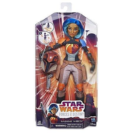 Star Wars Forces of Destiny Sabine Wren