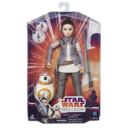 Star Wars Forces of Destiny Rey e BB-8