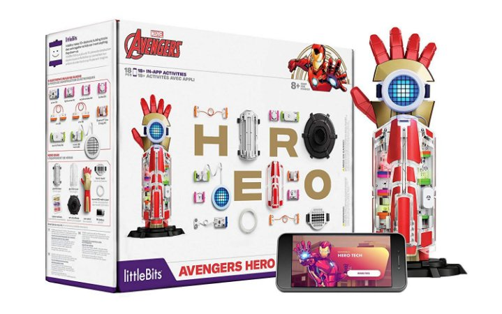 LittleBits Marvel Avengers Hero Inventor Kit de Inventor