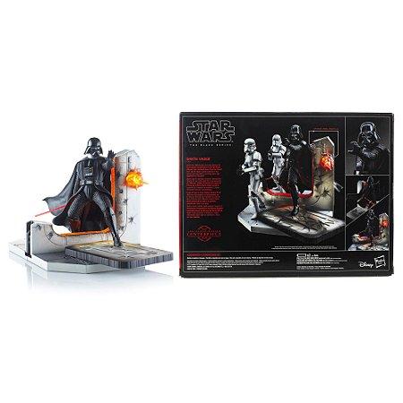 Star Wars The Black Series Estatueta Darth Vader Lights Up