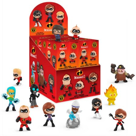 Funko Mystery Mini Incredibles 2 - 1 Boneco Misterioso