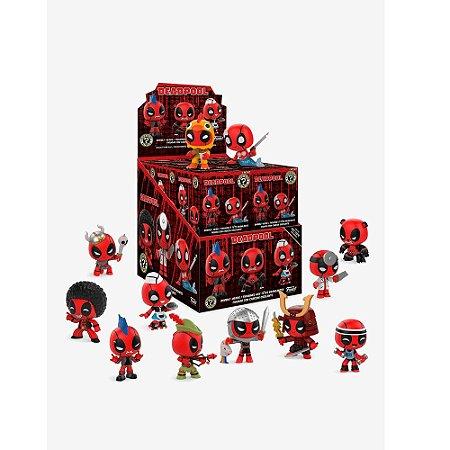 Funko Mystery Mini Deadpool Black - 1 Boneco Misterioso