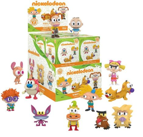 Funko Mystery Mini Nickelodeon - 1 Boneco Misterioso