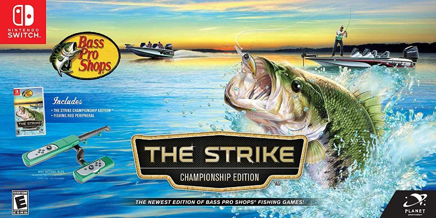Bass Pro Shops The Strike Championship Edition Bundle - Switch