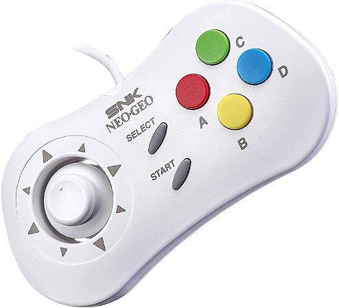 Controle Neo Geo Mini Pad - White (Branco)