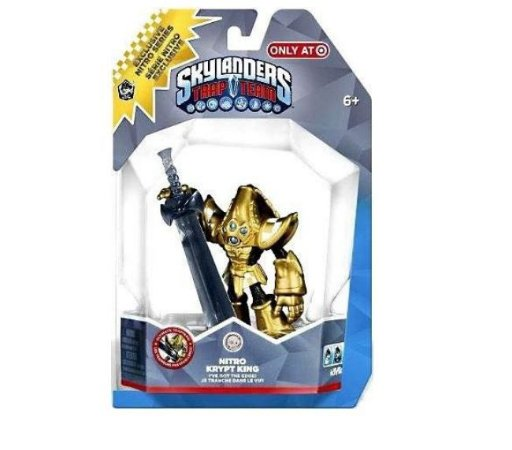 Skylanders Trap Team Trap Master Nitro Krypt King Exclusive