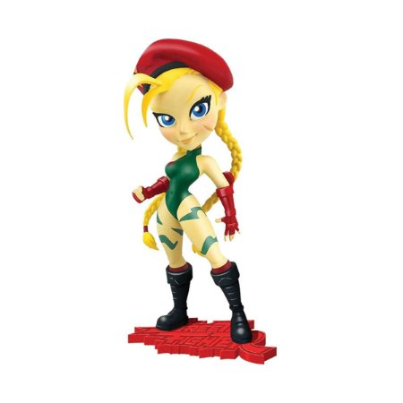 Figura Street Fighter Knock-Outs Serie 1 Cammy  - Cryptozoic