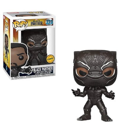 Funko Pop Marvel 273 Black Panther Chase Edition
