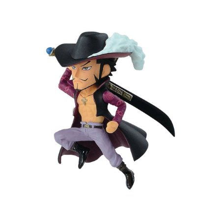 Figura One Piece Wcf 20th Dracule Mihawk - Bandai