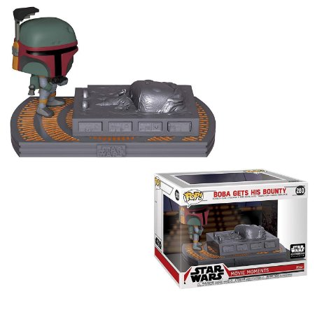 Funko Pop Star Wars 280 Boba Gets his Bounty