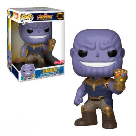 Funko Pop Avengers Infinity War 308 Thanos Super Sized