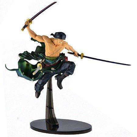 Figura World Figure Colosseum One Piece Roronoa Zoro - Bandai
