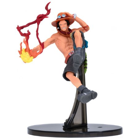 Figura One Piece Sculture Portgas D Ace - Bandai