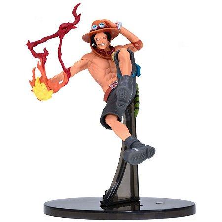 Figura One Piece Sculture Portgas D Ace - Bandai