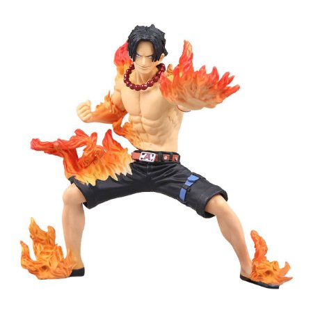 Figura One Piece Abiliators Portgas D Ace - Bandai