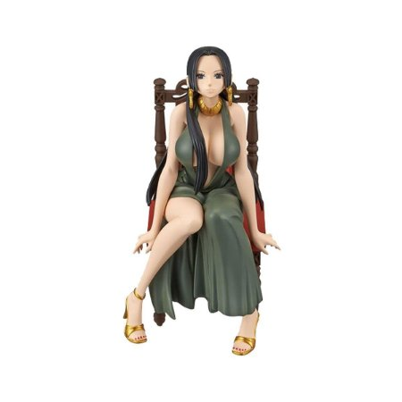 Figura One Piece Boa Hancock Black Dress - Bandai