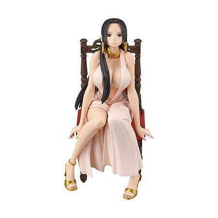 Figura One Piece Boa Hancock Pink Dress - Bandai