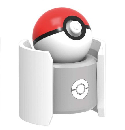 Carregador Poke Ball Pokeball Plus Charge Stand Pokémon Let's Go