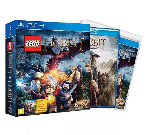 Lego The Hobbit - PS3 + Blu-ray Filme