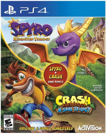 Spyro Crash Remastered Bundle - PS4