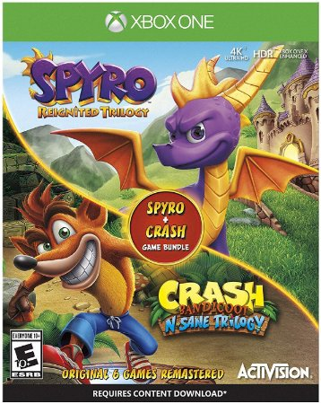 Spyro Crash Remastered Bundle - Xbox One