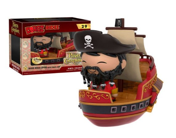 Funko Dorbz Disney Treasures 29 Pirates Caribbean Captain