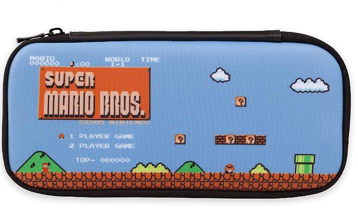 Traveler Case Stealth Kit 8-Bit Mario PowerA - Switch