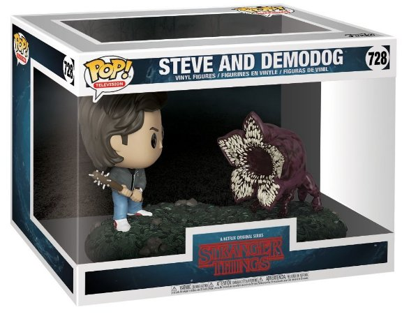Funko Pop Stranger Things 728 Steve Vs Demodog