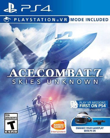 Ace Combat 7 Skies Unknown C/ Vr Mode - PS4