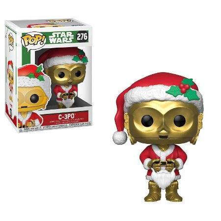 Funko Pop Star Wars Holiday 276 Santa C-3PO C3PO