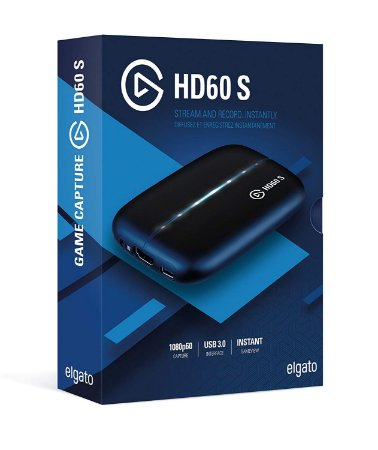 Elgato Game Capture HD60 S Stream Record 1080p60 PS4 Xbox Switch